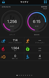 GarminConnect Mobile fitness